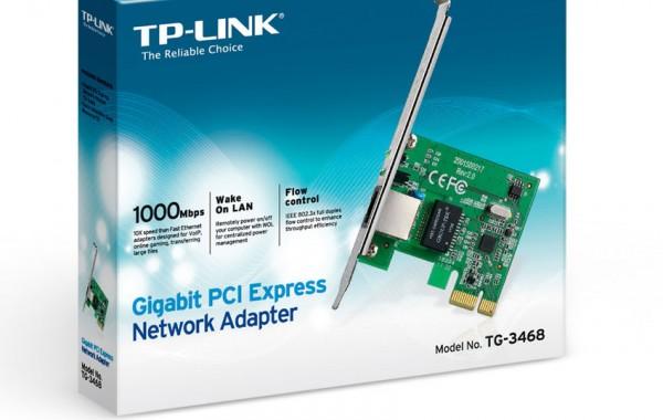 Carte réseau PCI Express – 15€